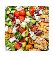 Chicken kachumber salad bowl( Healthy pack) (Available From 11:30AM To 2:30PM)